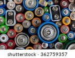 color batteries of different... | Shutterstock . vector #362759357