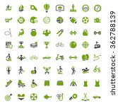 sports icons | Shutterstock .eps vector #362788139