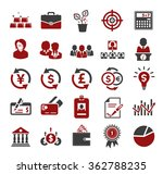 investment icons   Shutterstock .eps vector #362788235