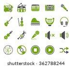 music icons | Shutterstock .eps vector #362788244