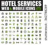 hotel icons | Shutterstock .eps vector #362788289