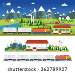 vector  amid the industrial... | Shutterstock .eps vector #362789927