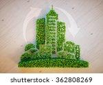 Green City Concept. 3d...