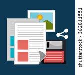 share internet entertainment   Shutterstock .eps vector #362811551