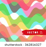 water retro color seamless... | Shutterstock .eps vector #362816327