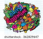 hand drawn vector illustration... | Shutterstock .eps vector #362829647
