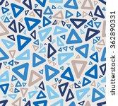 vector seamless blue colors... | Shutterstock .eps vector #362890331