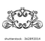 decorative horizontal border... | Shutterstock .eps vector #362892014