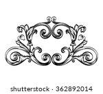 decorative horizontal border... | Shutterstock .eps vector #362892014