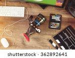 desktop shot of a modern... | Shutterstock . vector #362892641