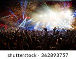 fun concert party disco light... | Shutterstock . vector #362893757