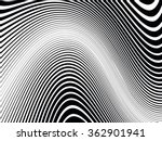 curved stripes . abstract... | Shutterstock .eps vector #362901941