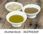 types of hemp  | Shutterstock . vector #362906369