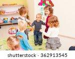 group of little children... | Shutterstock . vector #362913545