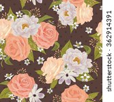 beautiful seamless floral...   Shutterstock .eps vector #362914391