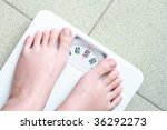 weight scale | Shutterstock . vector #36292273