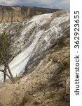 White Travertine Rock Makes A...