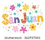 San Juan Lettering Decorative...