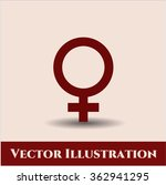 female vector icon | Shutterstock .eps vector #362941295