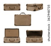 vintage suitcase in different... | Shutterstock . vector #362948735