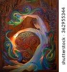 Celtic Dance. Oil Painting On...