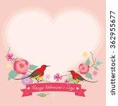 vector for lover invitation... | Shutterstock .eps vector #362955677