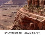 Biking On Edge Of Cliff   A...