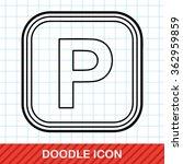 parking lot doodle   Shutterstock .eps vector #362959859