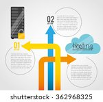 web hosting design  | Shutterstock .eps vector #362968325