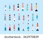 lighthouse vector | Shutterstock .eps vector #362970839