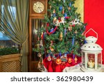 christmas tree decorations... | Shutterstock . vector #362980439