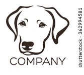 dog logo   Shutterstock .eps vector #362994581