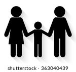 family icon vector | Shutterstock .eps vector #363040439