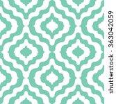 moroccan  pattern seamless...   Shutterstock .eps vector #363042059