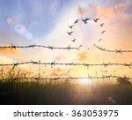 partnership concept  silhouette ... | Shutterstock . vector #363053975