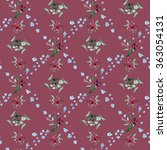 raster seamless pattern with... | Shutterstock . vector #363054131