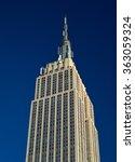 new york city  usa   january 05 ... | Shutterstock . vector #363059324