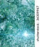 glass   broken | Shutterstock . vector #36309967