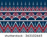 geometric ethnic pattern... | Shutterstock .eps vector #363102665