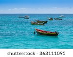 traditional fisher boat in... | Shutterstock . vector #363111095