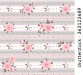 Seamless Striped Pattern With...