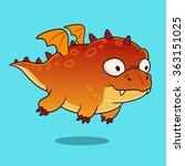 vector hand drawn cartoon...   Shutterstock .eps vector #363151025
