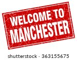 manchester red square grunge... | Shutterstock .eps vector #363155675