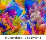colors of imagination series.... | Shutterstock . vector #363194945