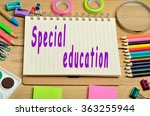 special education words on... | Shutterstock . vector #363255944
