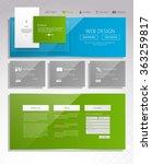 modern website design template. ...