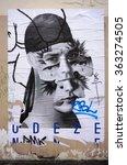 paris  france  24 dec 2015 ... | Shutterstock . vector #363274505