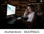 stock analytic and broker... | Shutterstock . vector #363290621