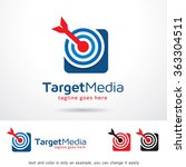 target media logo template...   Shutterstock .eps vector #363304511