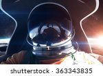 brave astronaut in the... | Shutterstock . vector #363343835